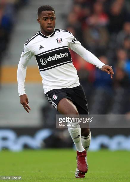 Ryan Sessegnon of Fulham during the Premier League match between Fulham FC and Burnley FC at Craven Cottage on August 25 2018 in London United Kingdom