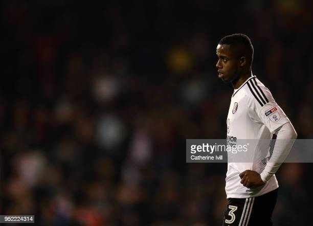 Ryan Sessegnon of Fulham during the Sky Bet Championship match between Fulham and Sunderland at Craven Cottage on April 27 2018 in London England