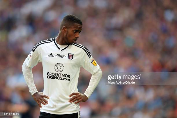 Ryan Sessegnon of Fulham during the Sky Bet Championship Play Off Final between Aston Villa and Fulham at Wembley Stadium on May 26 2018 in London...