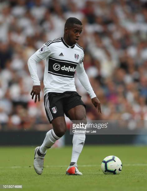 Ryan Sessegnon of Fulham in action during the Premier League match between Fulham FC and Crystal Palace at Craven Cottage on August 11 2018 in London...