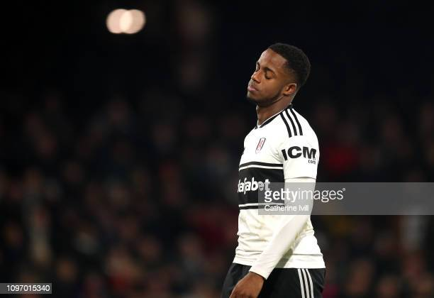 Ryan Sessegnon of Fulham looks dejeted during the Premier League match between Fulham FC and Tottenham Hotspur at Craven Cottage on January 20 2019...