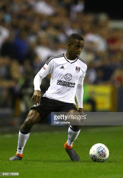 Ryan Sessegnon of Fulham runs with the ball during the Sky Bet Championship match between Millwall and Fulham at The Den on April 20 2018 in London...