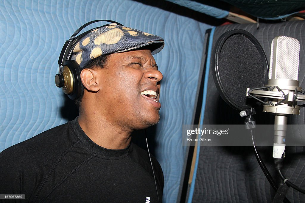 Ryan Shaw attends Broadway's 'Motown:The Musical' Original Broadway Cast Recording Session at MSR Studios in Times Square on May 2, 2013 in New York City.