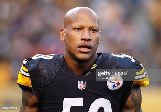 Ryan Shazier of the Pittsburgh Steelers in action during the game against the Denver Broncos on December 20 2015 at Heinz Field in Pittsburgh...
