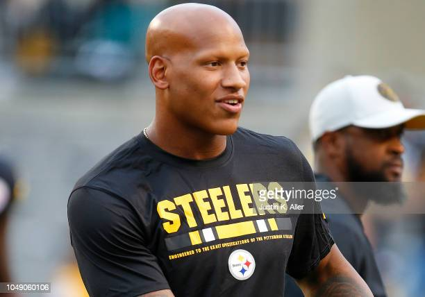Ryan Shazier of the Pittsburgh Steelers in action on August 30 2018 at Heinz Field in Pittsburgh Pennsylvania
