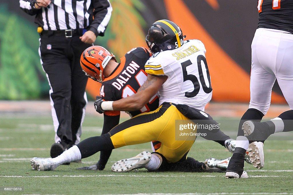 Pittsburgh Steelers v Cincinnati Bengals : News Photo
