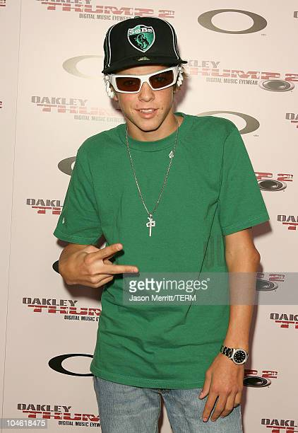 Ryan Sheckler during Oakley THUMP 2 Launch Party October 12 2005 at Montmatre Lounge in Hollywood California United States
