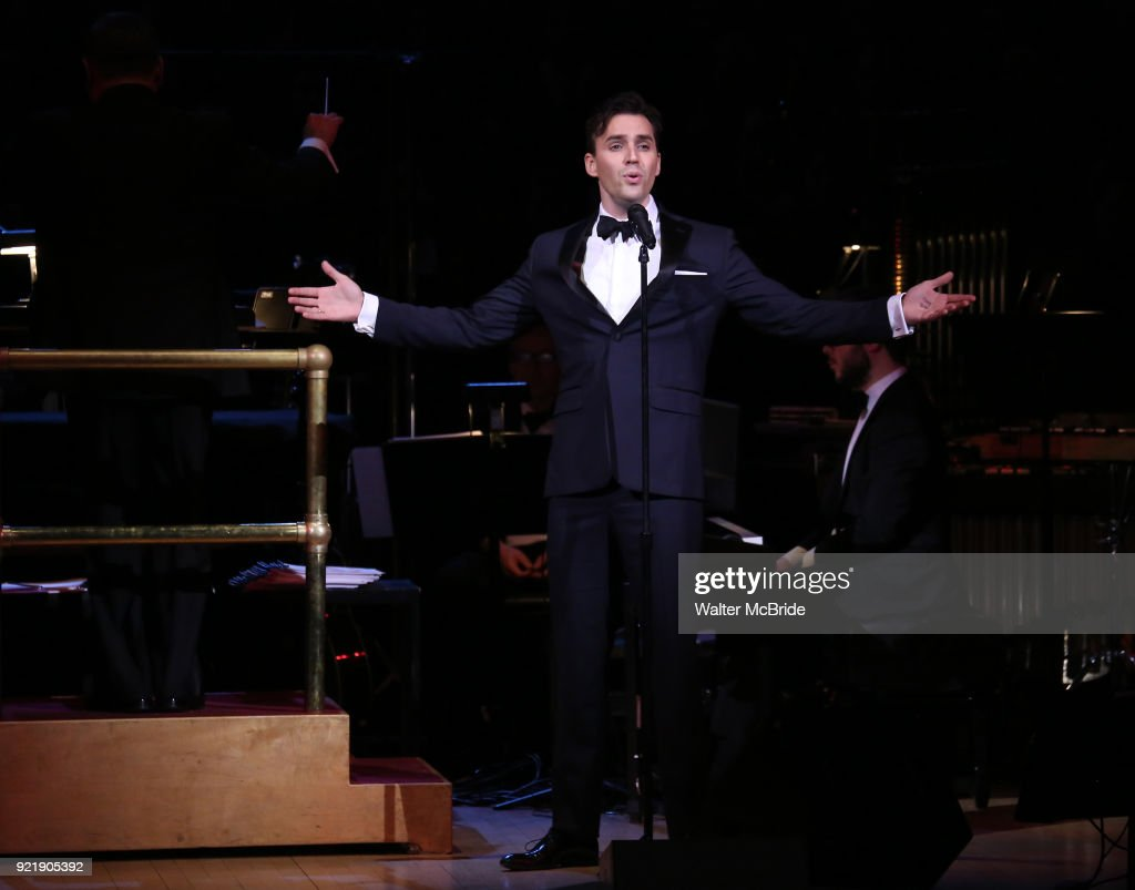 Ryan Silverman during the Manhattan Concert Productions Broadway Classics in Concert at Carnegie Hall on February 20, 2018 at Carnegie Hall in New York City.