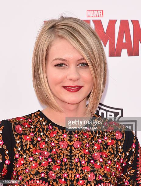 Ryan Simpkins arrives at the Los Angeles Premiere of Marvel Studios 'AntMan' at Dolby Theatre on June 29 2015 in Hollywood California