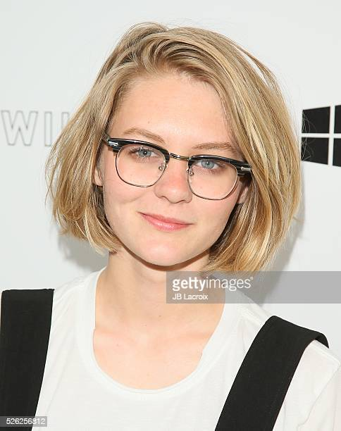 Ryan Simpkins attends the first annual 'Girls To The Front' event benefiting Girls Rock Camp Foundation at Chateau Marmont on April 29 2016 in Los...