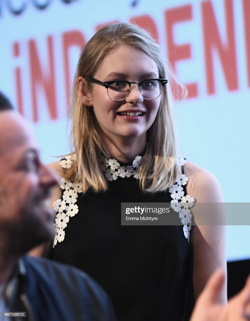 Ryan Simpkins speaks at the 'Izzy Gets The Fuck Across Town' and 'Ok, Call Me Back' Premieres during the 2017 Los Angeles Film Festival at Arclight Cinemas Culver City on June 17, 2017 in Culver City, California.