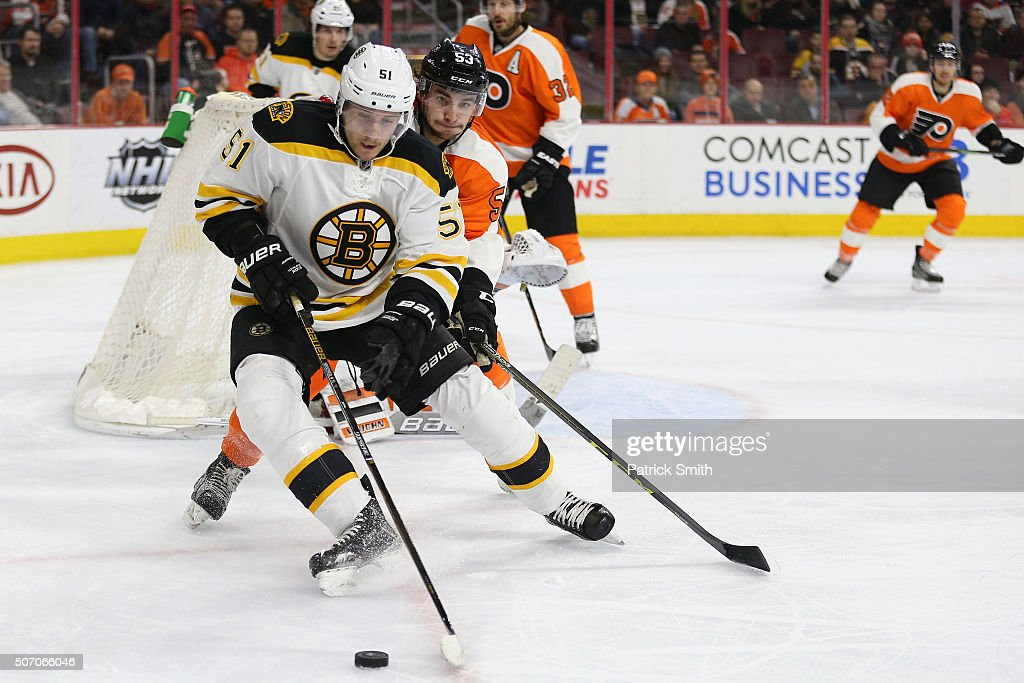 Boston Bruins v Philadelphia Flyers : News Photo