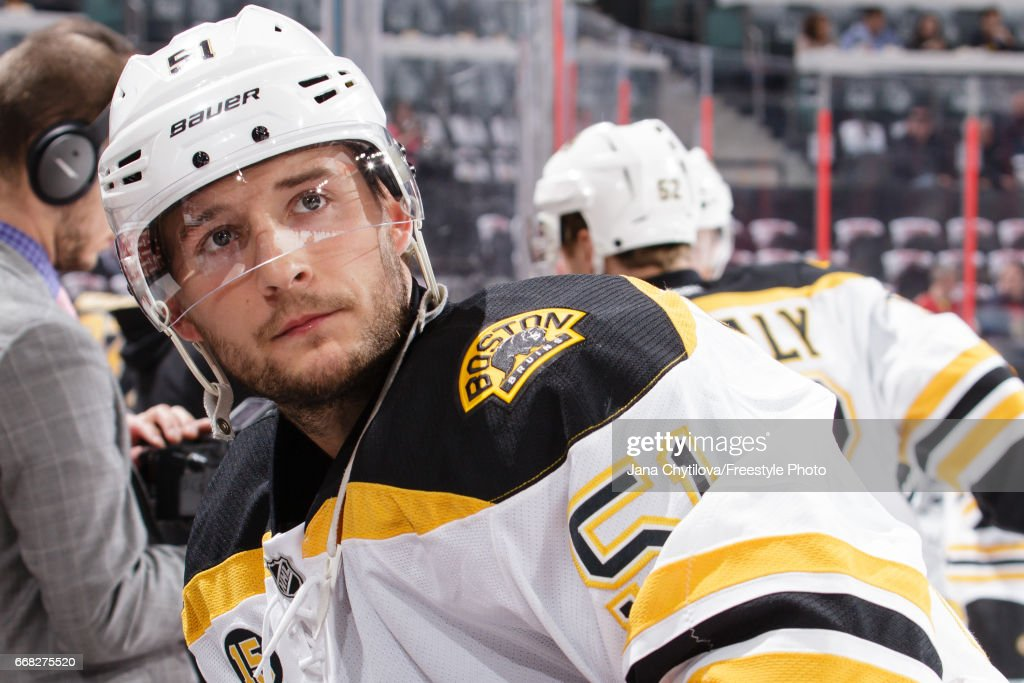 Boston Bruins v Ottawa Senators - Game One : News Photo