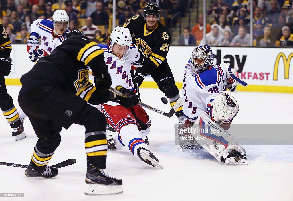 New York Rangers v Boston Bruins