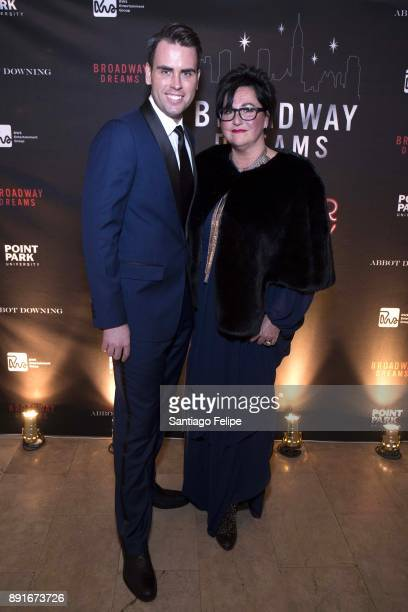 Ryan Stana and Annette Tanner attend the 10th Annual Broadway Dreams Supper at The Plaza Hotel on December 12 2017 in New York City