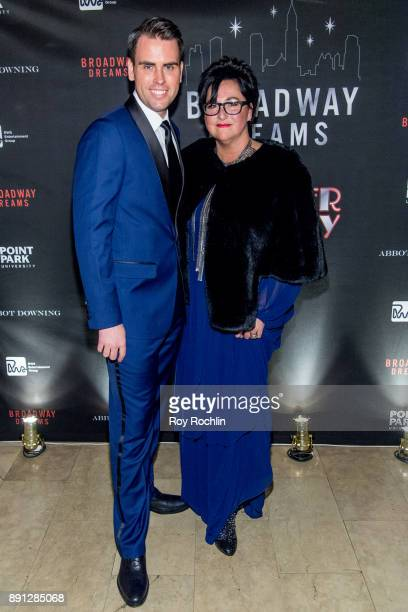 Ryan Stana and Annette Tanner attend the10th Annual Broadway Dreams Supper at The Plaza Hotel on December 12 2017 in New York City
