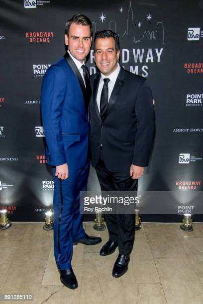 Ryan Stana and Craig Lawrie attend the10th Annual Broadway Dreams Supper at The Plaza Hotel on December 12 2017 in New York City