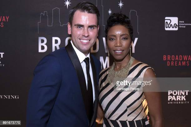 Ryan Stana and Heather Headley attend the 10th Annual Broadway Dreams Supper at The Plaza Hotel on December 12 2017 in New York City