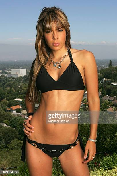 Ryan Starr during Reality TV Swimsuit Photoshoot August 1 2005 in Los Angeles California United States