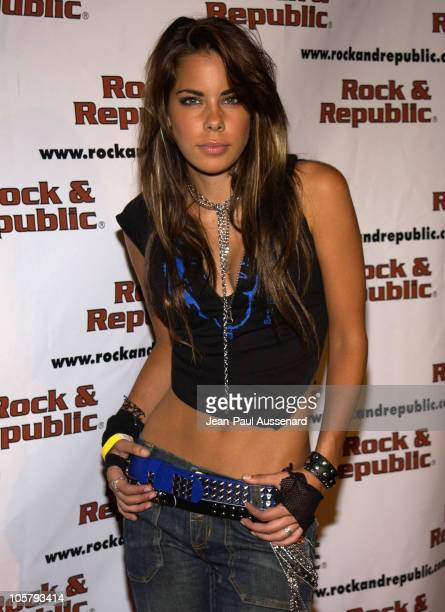 Ryan Starr during Rock Republic Website Launch Party Presented by LA Confidential Magazine at Ivar in Hollywood California United States