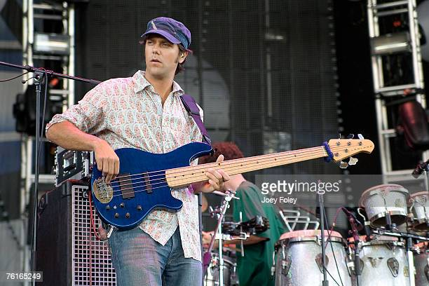 Ryan Stasik of Umphrey's McGee performs on August 17 2007 in Noblesville Indiana