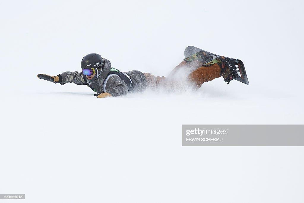 SNOWBOARD-WORLD-SLOPESTYLE : News Photo