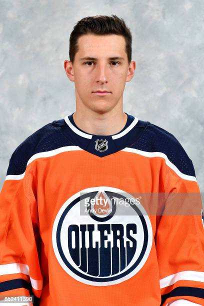 Ryan Strome of the Edmonton Oilers poses for his official headshot for the 20172018 season on September 14 2017 at Rogers Place in Edmonton Alberta...
