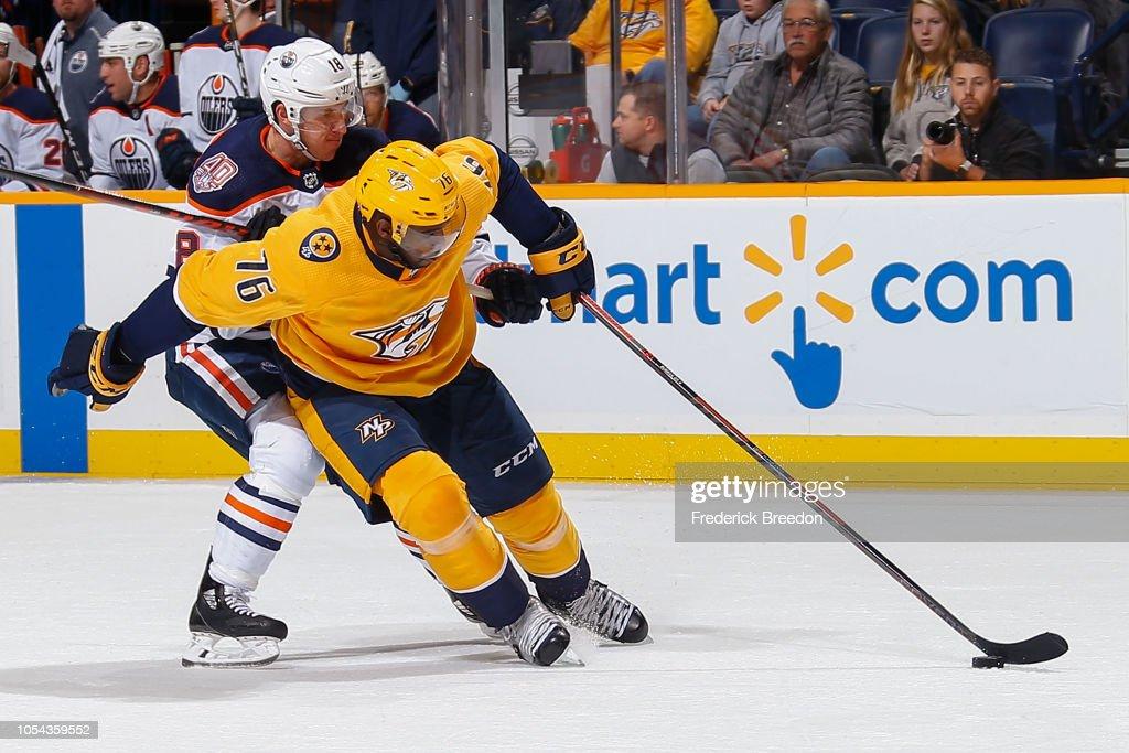 Edmonton Oilers v Nashville Predators : News Photo