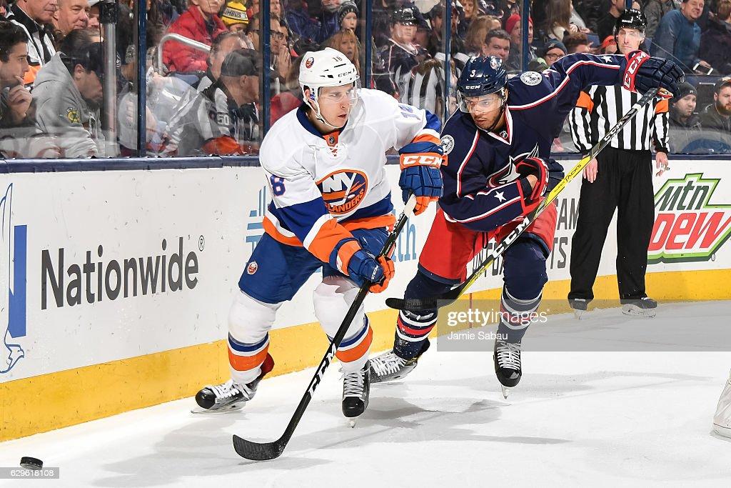New York Islanders v Columbus Blue Jackets : Nachrichtenfoto
