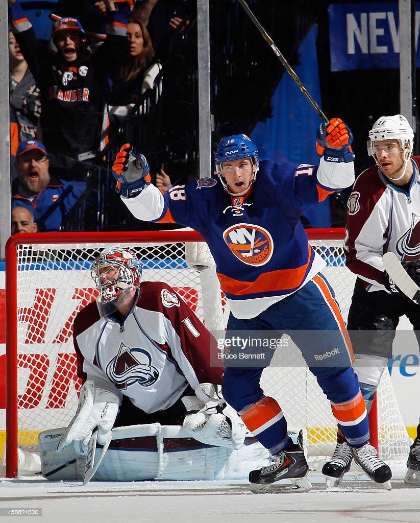 Colorado Avalanche v New York Islanders : ニュース写真