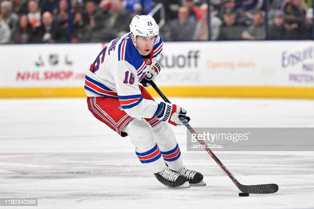 Ryan Strome of the New York Rangers skates against against the Columbus Blue Jackets on December 5, 2019 at Nationwide Arena in Columbus, Ohio.