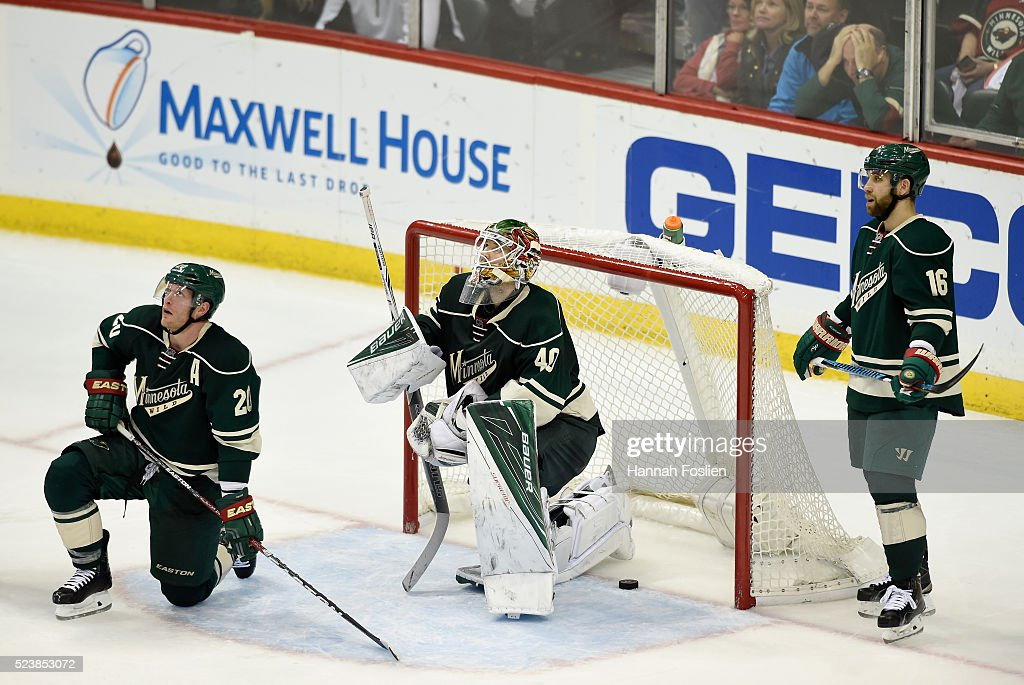 Dallas Stars v Minnesota Wild - Game Six : News Photo