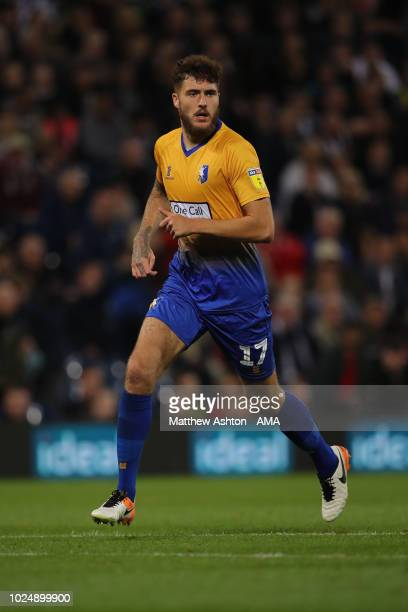 Ryan Sweeney of Mansfield Town during the Carabao Cup Second Round match between West Bromwich Albion and Mansfield Town at The Hawthorns on August...