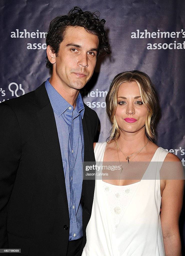 Ryan Sweeting and Kaley Cuoco attend the 22nd 'A Night At Sardi's' at The Beverly Hilton Hotel on March 26, 2014 in Beverly Hills, California.