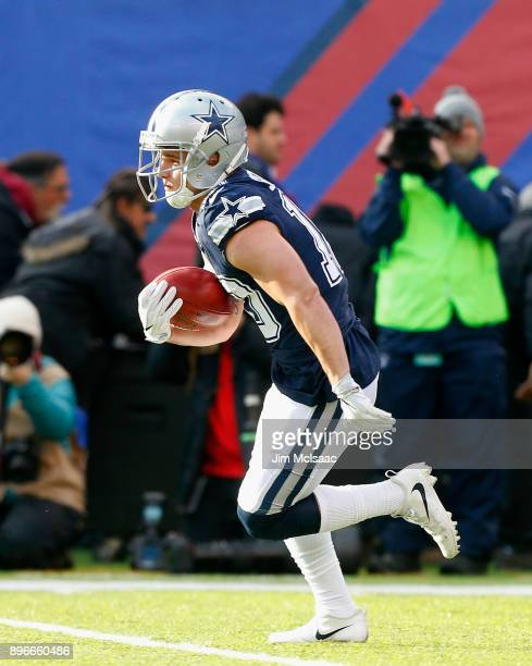 Ryan Switzer of the Dallas Cowboys in action against the New York Giants on December 10 2017 at MetLife Stadium in East Rutherford New Jersey The...