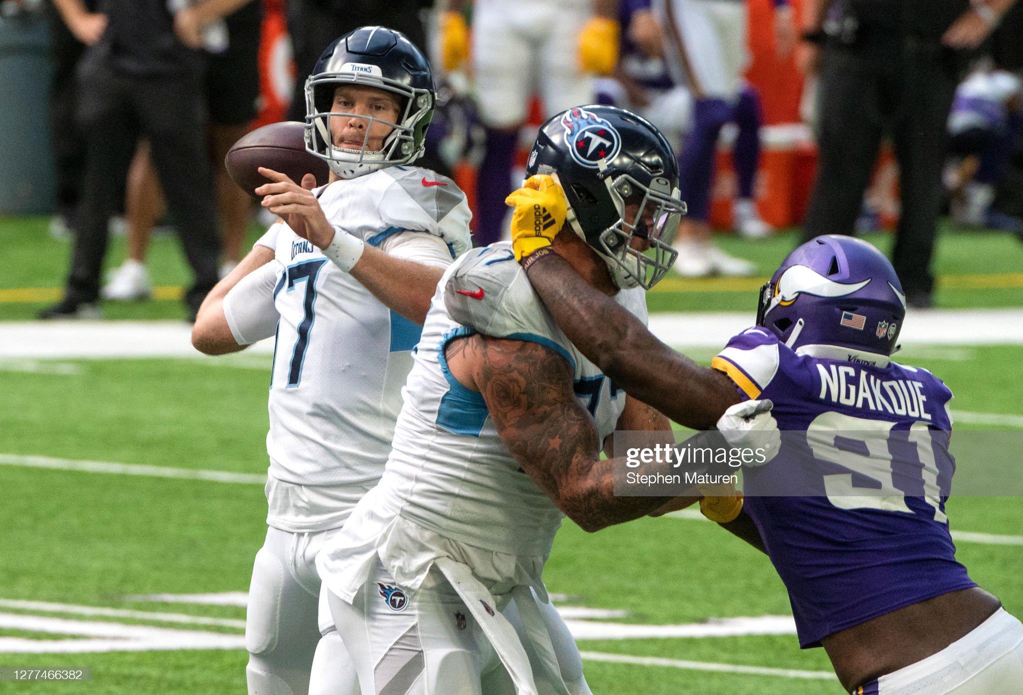 Tennessee Titans v Minnesota Vikings : News Photo