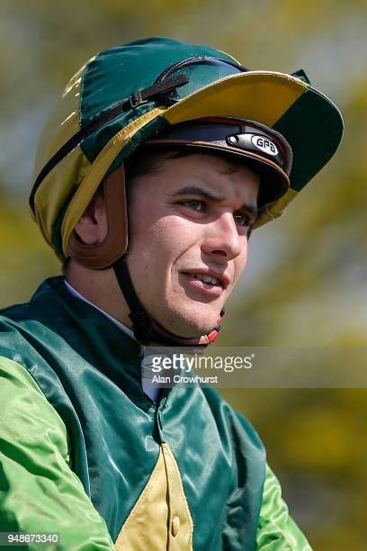 Ryan Tate poses at Newmarket racecourse on April 19 2018 in Newmarket England