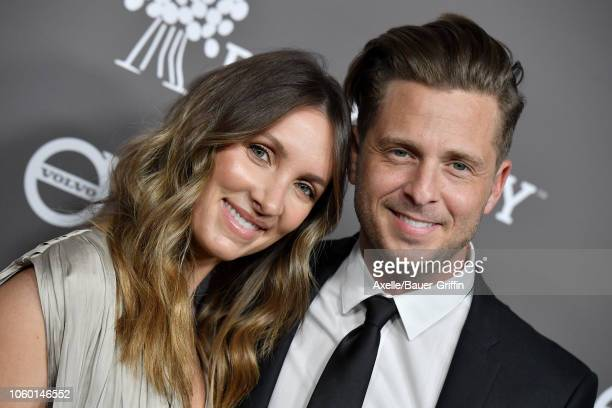 Ryan Tedder and Genevieve Tedder attend the 2018 Baby2Baby Gala Presented by Paul Mitchell at 3LABS on November 10 2018 in Culver City California