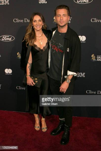 Ryan Tedder and Genevieve Tedder attend the PreGRAMMY Gala and GRAMMY Salute to Industry Icons Honoring Sean Diddy Combs at The Beverly Hilton Hotel...