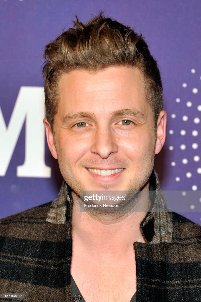 Ryan Tedder arrives at the 2012 CMT Artists Of The Year at The Factory At Franklin on December 3, 2012 in Franklin, Tennessee.