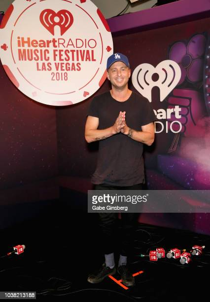 Ryan Tedder attends the 2018 iHeartRadio Music Festival at TMobile Arena on September 22 2018 in Las Vegas Nevada