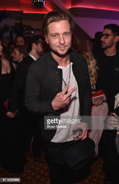 Ryan Tedder attends the 60th Annual Grammy Awards after party hosted by Benny Blanco and Diplo with SVEDKA Vodka and Interscope Records on January 29...