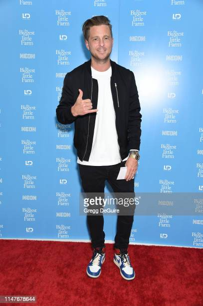 Ryan Tedder attends The Biggest Little Farm Los Angeles Premiere at Landmark Theatre on May 07 2019 in Los Angeles California