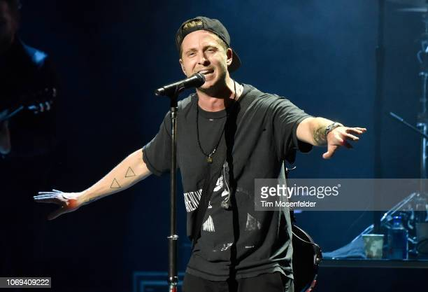 Ryan Tedder of One Republic performs during 973's Alice In Winterland 2018 at The Masonic Auditorium on December 6 2018 in San Francisco California