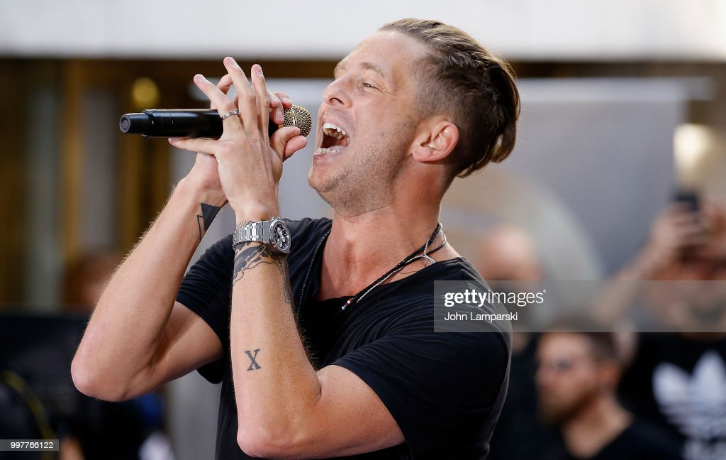 """One Republic Performs On NBC's """"Today"""" : News Photo"""