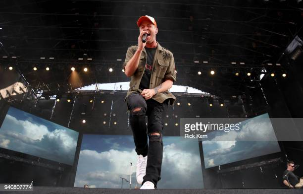 Ryan Tedder of One Republic performs onstage during the Capital One JamFest at the NCAA March Madness Music Festival at Hemisfair on April 1 2018 in...
