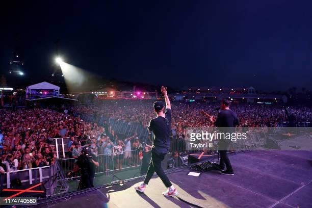 Ryan Tedder of OneRepublic performs during the 2019 KAABOO Del Mar Festival at Del Mar Race Track on September 14, 2019 in Del Mar, California.
