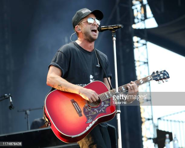 Ryan Tedder of OneRepublic performs during the 2019 KAABOO Del Mar Festival at Del Mar Race Track on September 14 2019 in Del Mar California