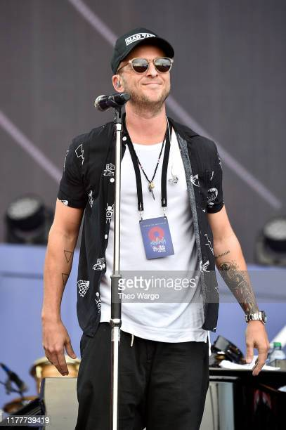 Ryan Tedder of OneRepublic performs onstage during the 2019 Global Citizen Festival Power The Movement in Central Park on September 28 2019 in New...