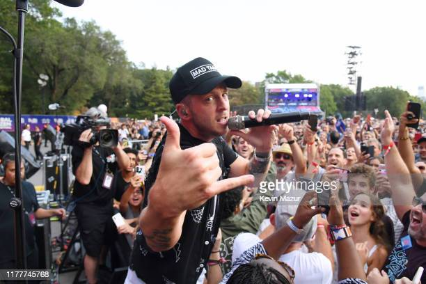 Ryan Tedder of OneRepublic performs onstage during the 2019 Global Citizen Festival: Power The Movement in Central Park on September 28, 2019 in New...